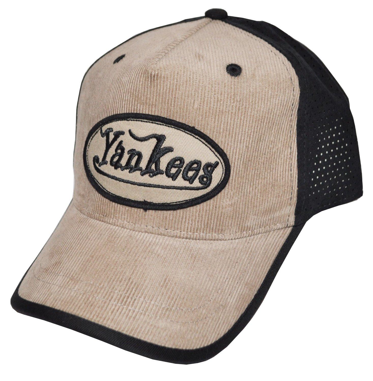 Diseño ajustable placa delantera NY Yankees gorra (AC2382): Amazon ...