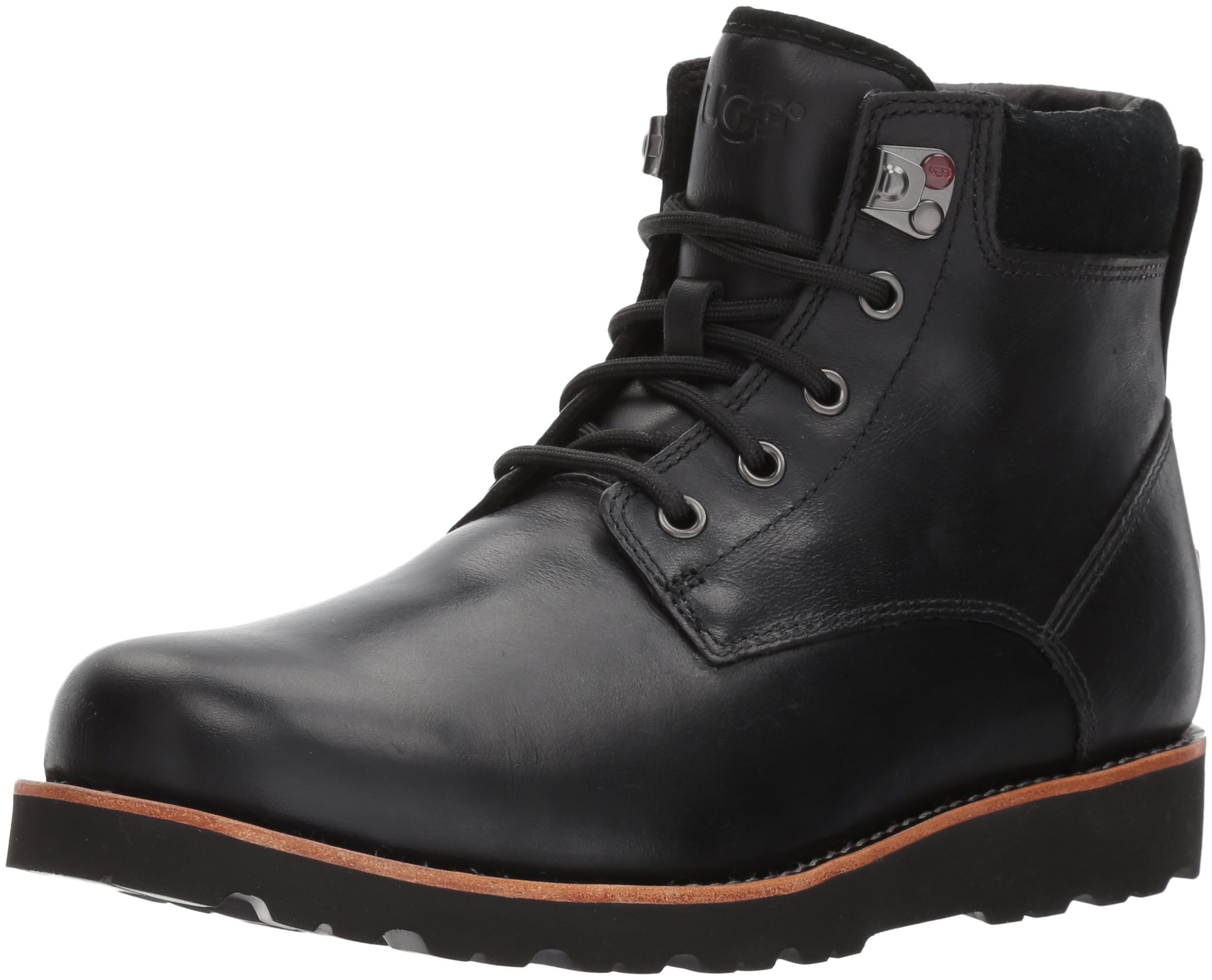 Ugg Men's Seton Tl Winter Boot, Black, 13 M US