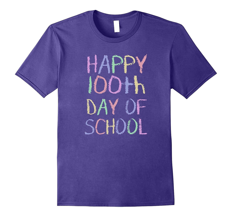 100 Days Of School Shirt - Happy 100th Day of School TShirt-RT