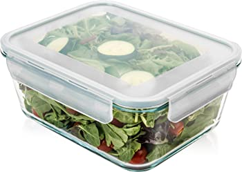 Razab HomeGoods 14 Cup Large Glass Food Storage Container