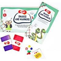 Toiing Snakes and Manners - Snakes and Ladders with A Twist to Learn About Habits and Manners for 5 to 7 Year Old Kids