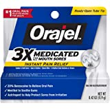 Orajel Mouth Sore Gel, 0.42 Ounce