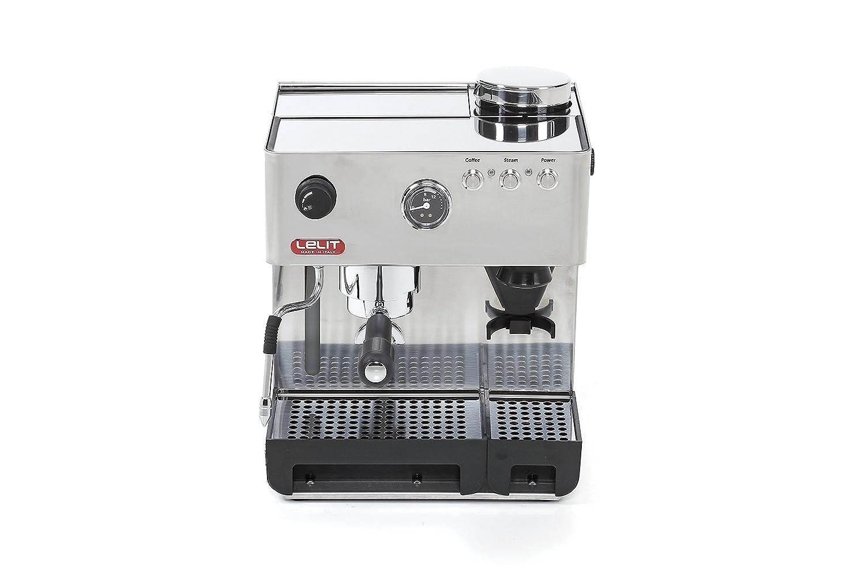 Espresso Siebträgermaschine mit integriertem Mahlwerk Lelit PL42EMI