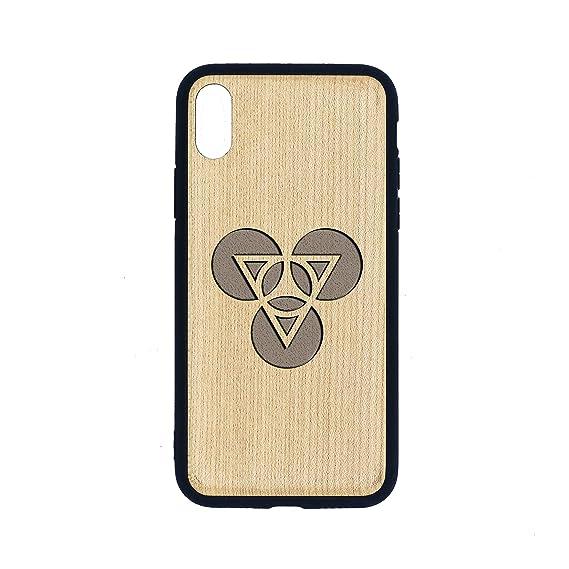 Amazon com: FN FAL ICON Symbol - iPhone Xs CASE - Maple Premium Slim