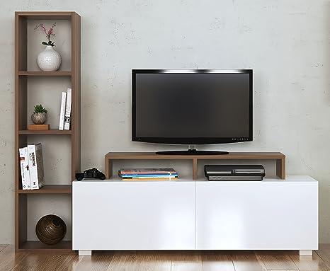 ASTER Set Soggiorno - Parete Attrezzata - Mobile TV Porta con ...