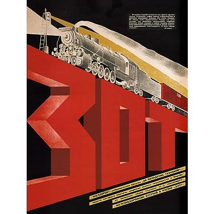Amazon.com: Railway Society Unión Soviética tren Viaje ...