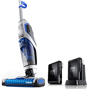 Hoover ONEPWR Cordless FloorMate Jet Hard Floor and Rug Cleaner with Additional 3Ah Battery, BH55210E, White