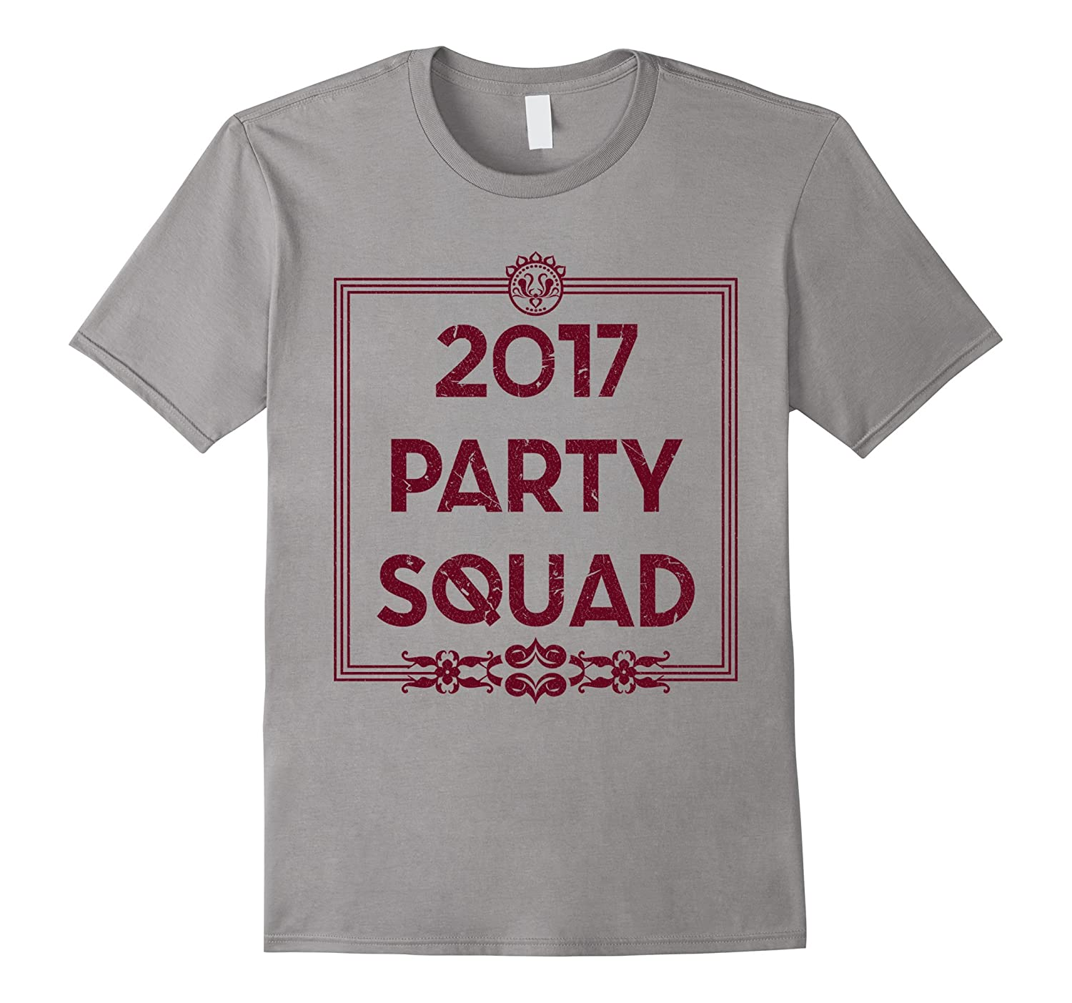 2017 Party Squad - New Year's Eve Celebratory T-Shirt-Art
