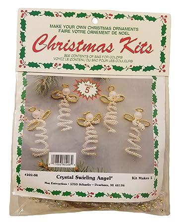 Amazon Com Merri Mac Crystal Swirling Angel Beaded Christmas
