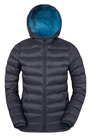 e0e9b6e2f2a Mountain Warehouse Seasons Women's Water Resistant Warm Padded Jacket Black  2