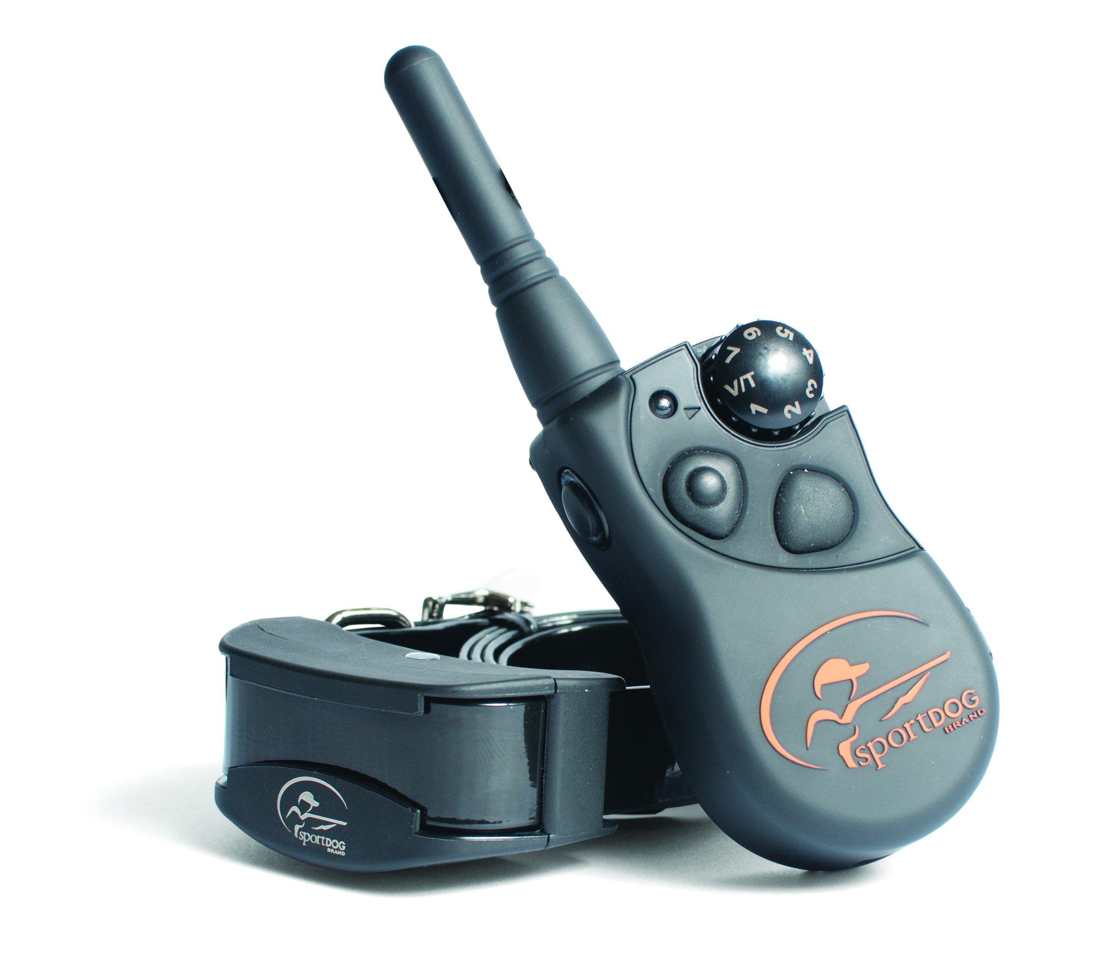SportDOG - Collier de Dressage pour Chien avec Télécommande SportTrainer, Submersible, 7 Niveaux de Stimulation Statique, Vibration et Signal Sonore - Portée 450 m product image