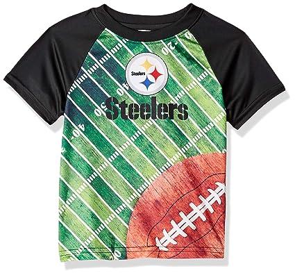 f24cfc2f1 Gerber Childrenswear NFL Pittsburgh Steelers Boys 2018Short Sleeve Field Tee