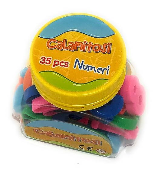 Magnético Niños Niños Letra Alfabeto Número de matemáticas imanes ...