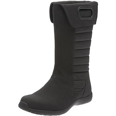 c6b8b7a0 Amazon.com | Patagonia Women's Fiona Mid Winter Boot, Black, 10.5 M ...