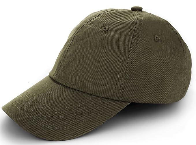 89a00ab6ab3 TARTINY Unisex Classic Plain 100% Cotton Baseball Cap