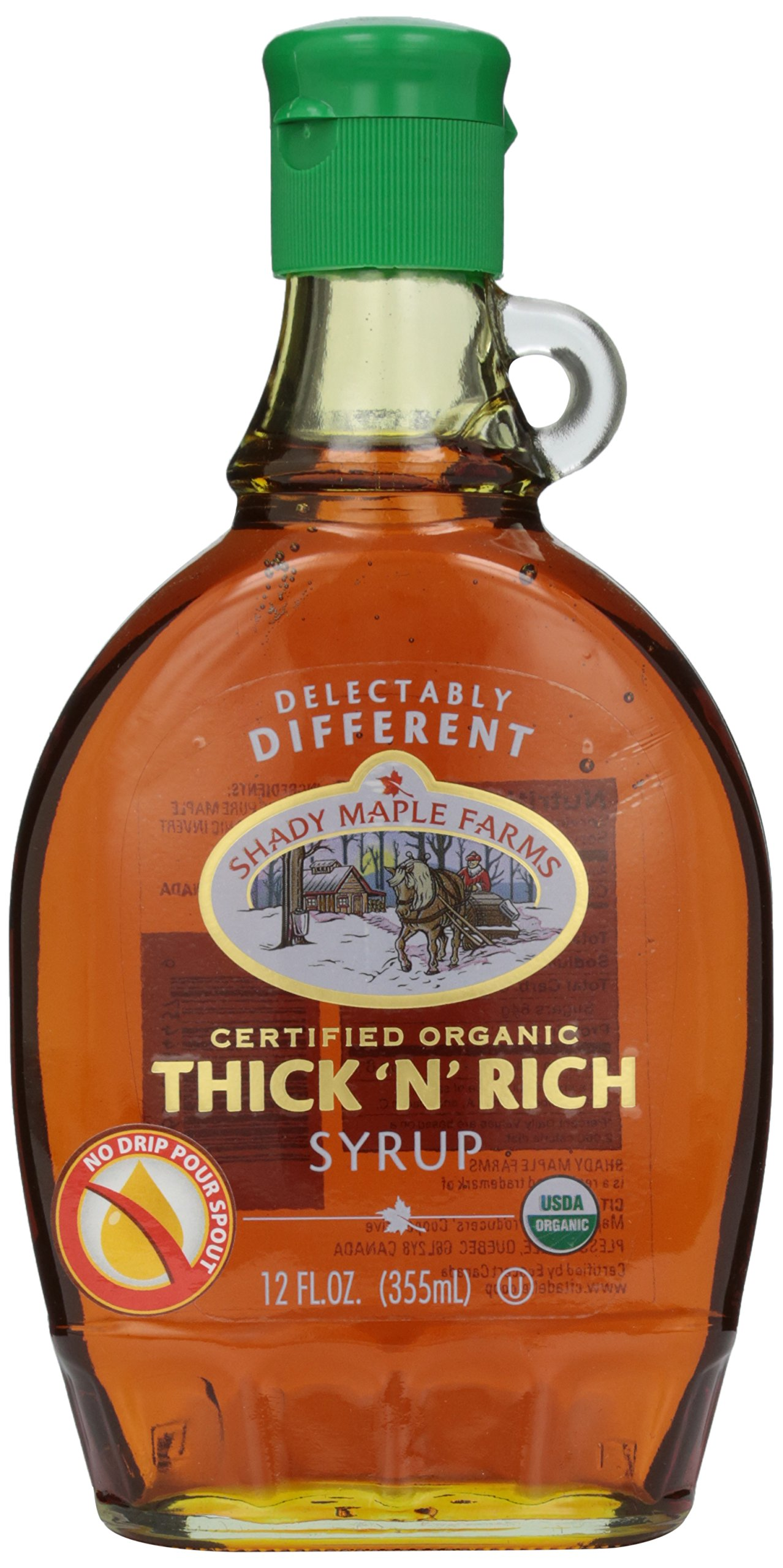 Shady Maple Farms, Certified Organic Thick 'N Rich, 12 oz