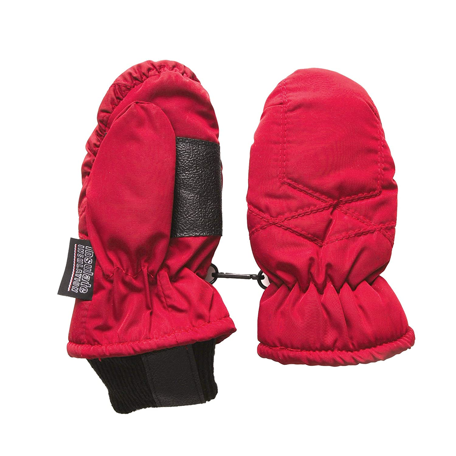 SANREMO Unisex Kids Toddler Thinsulate and Waterproof Cold Weather Ski Mittens 9267-$P