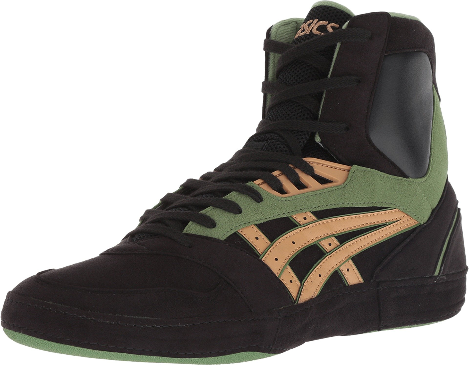 ASICS International Lyte Men's Wrestling Shoes, Black/Caravan, Size 11 by ASICS