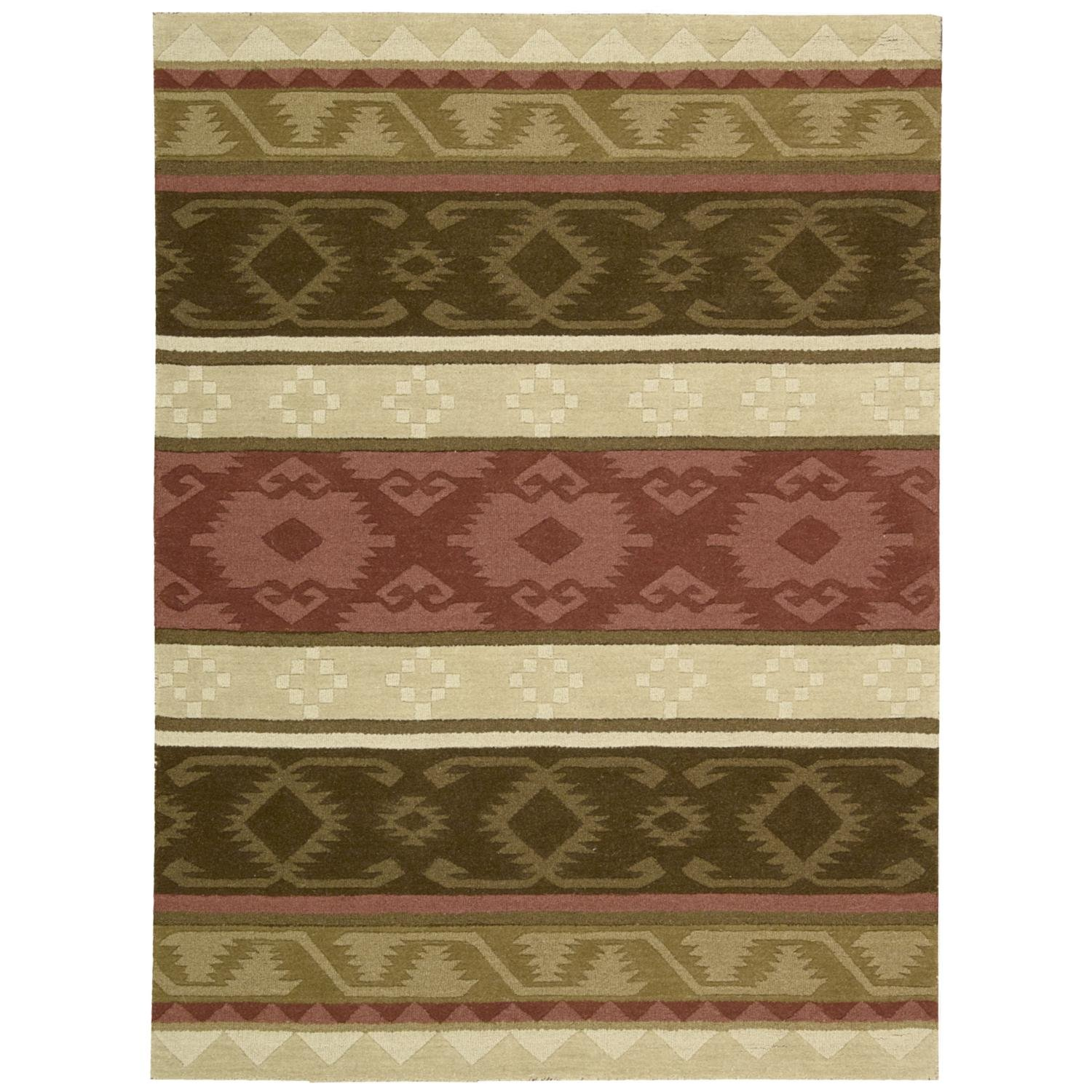 Nourison India House (IH85) Espre Rectangle Area Rug, 8-Feet by 10-Feet 6-Inches (8' x 10'6'')