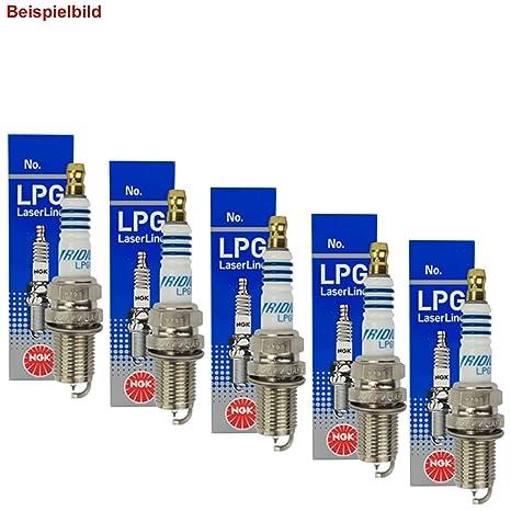 Juego de 5 ngk Bujías LPG Laser Line 6