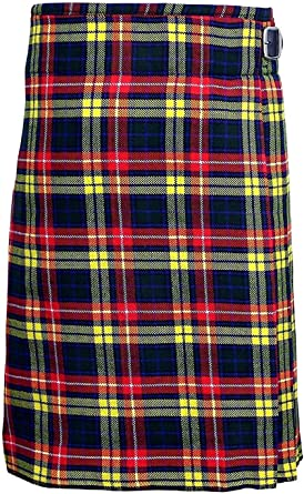 Men/'s 5 Yard Scottish Kilts Tartan Kilt 13 oz Highland Casual Kilt 22 Tartans