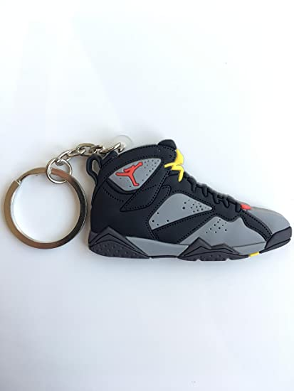 ab01afd1849 Amazon.com : Jordan Retro 7 Bordeaux Sneaker Keychain Shoes Keyring ...