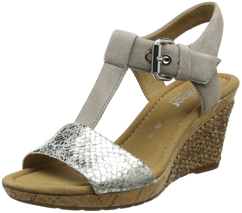 Gabor Shoes Comfort Sport, Sandales Comfort Bride Bride Cheville Femme Sandales Gris (Arg./Koala Grata) 27693b8 - piero.space