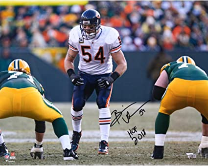Image Unavailable. Image not available for. Color  Brian Urlacher Chicago  Bears Autographed ... f458ce64e