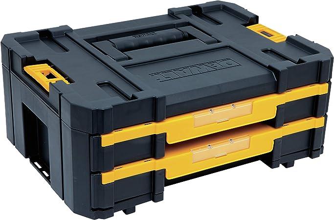 DeWalt DWST1-70705 Mallette de transport avec tiroir et compartiments TSTAK Box III