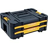 DEWALT Organizador TSTAK No. 4 com Fecho Metálico de 16,5 Pol. DWST17804