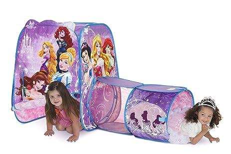 Playhut Disney Princess Adventure Hut Tent  sc 1 st  Amazon.com & Amazon.com: Playhut Disney Princess Adventure Hut Tent: Toys u0026 Games