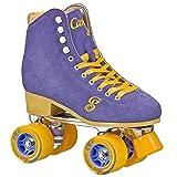 Roller Derby Candi Girl Carlin Women's Roller Skate Periwinkle/Orange Size: 4