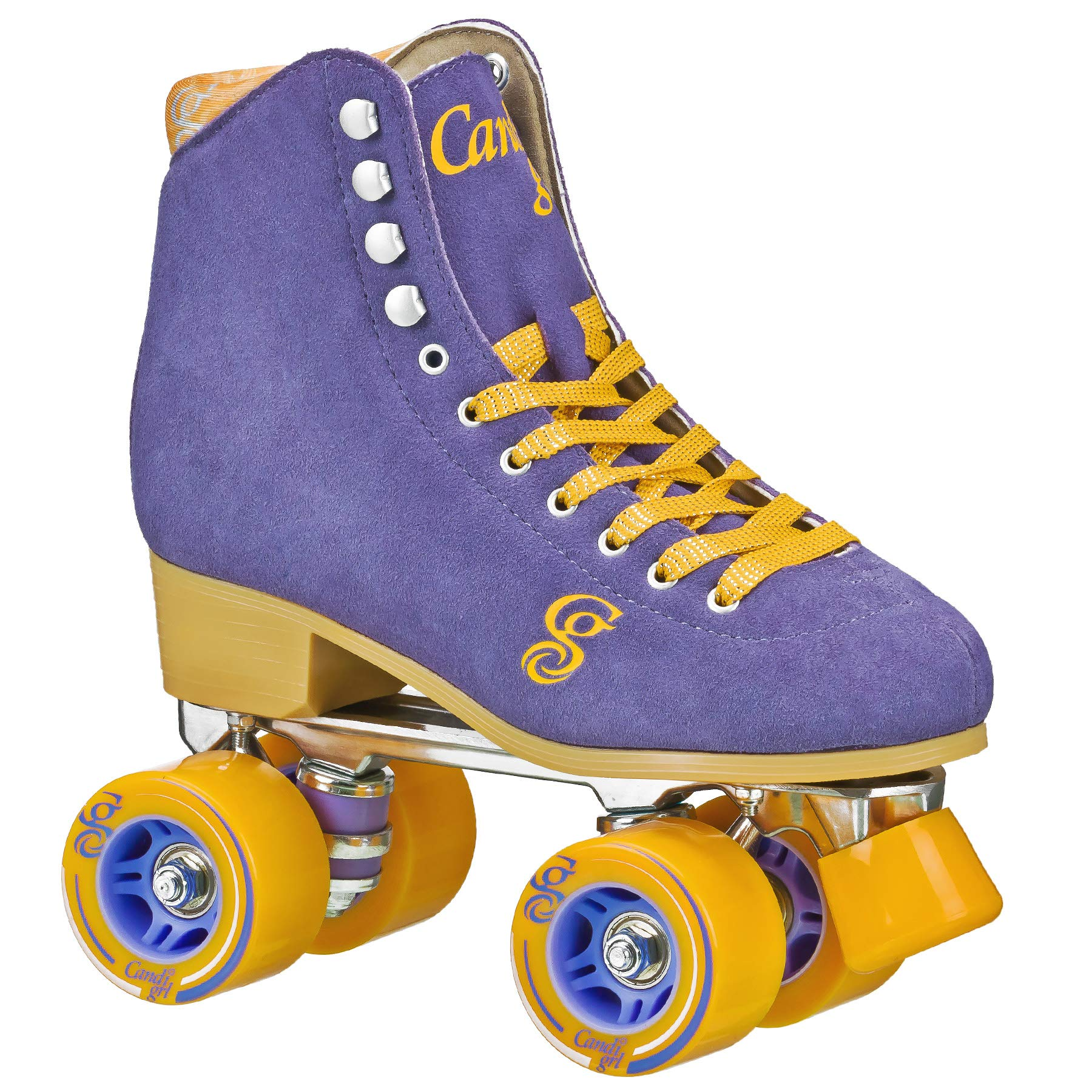 Candi GRL Carlin Women's Roller Skate (Periwinkle/Orange) (3)