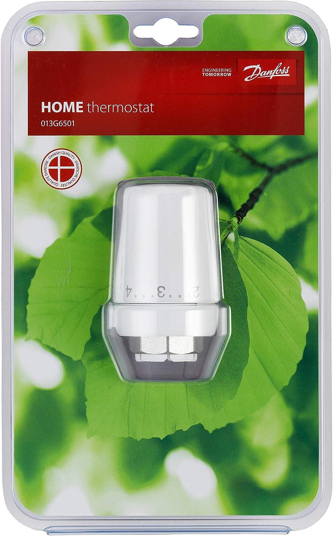 Danfoss 013G6501 RTW-K Heizk/örper Sensor Wei/ß