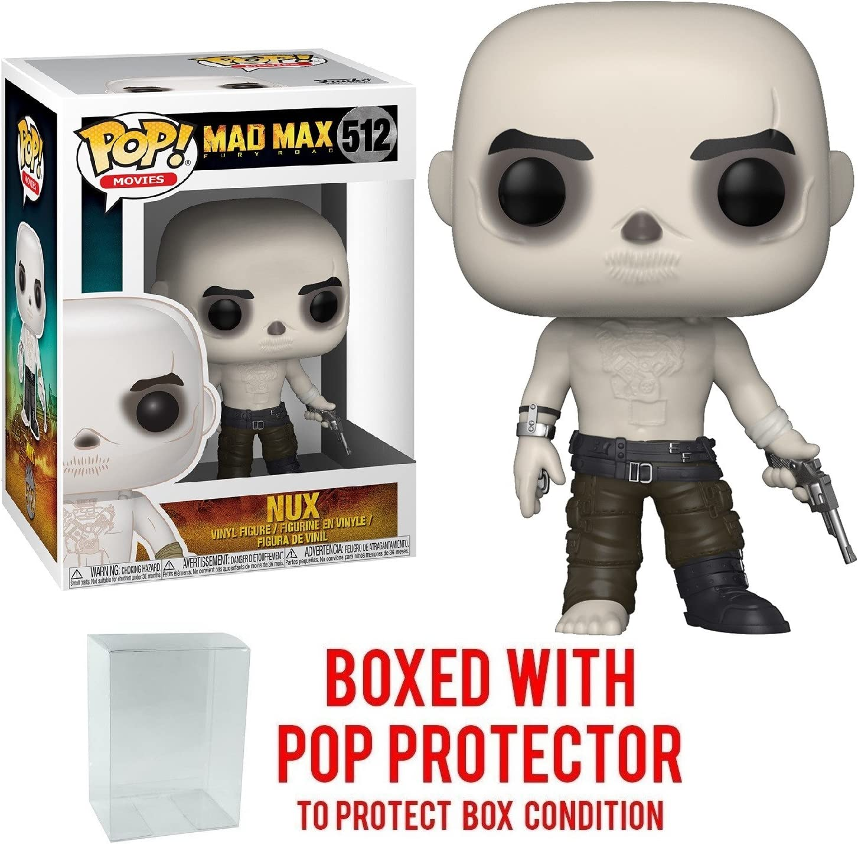 Bundled with Pop BOX PROTECTOR CASE Movies: Mad Max Fury Road Imperator Furiosa Vinyl Figure Funko Pop