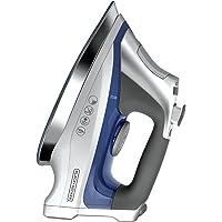 BLACK + DECKER D3031-LA Plancha de Cerámica a Vapor, color azul/gris
