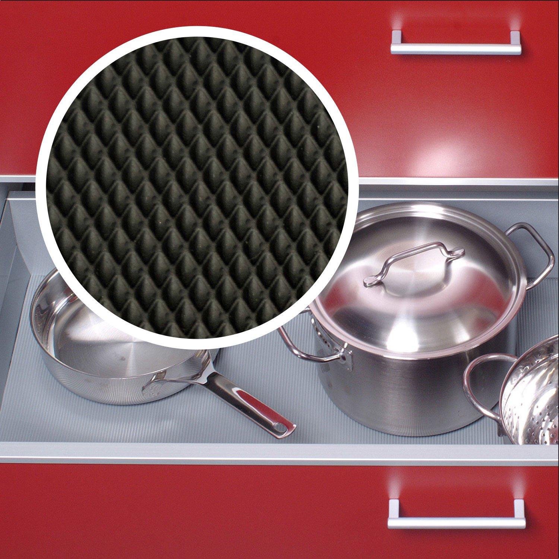 Antirutschmatte Schubladeneinlage Küche Wabe 473mm Meterware 1,5m ...