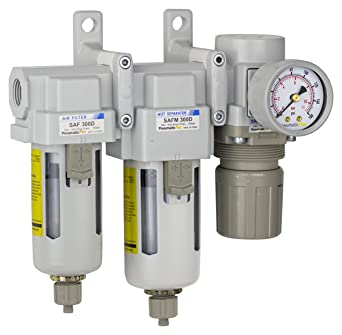 PneumaticPlus Sau330-g03g tres etapas del filtro de aire de partículas sistema de secado de