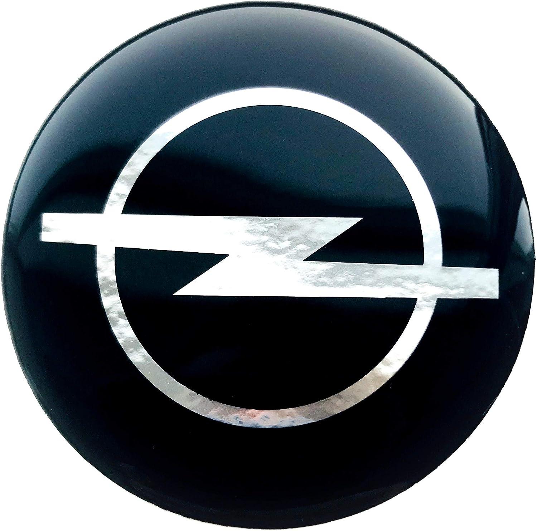 Aufkleber 4 X 60 Mm Embleme Kompatibel Mit Opel Radkappen Nabenkappen Nabendeckel Silikon Auto