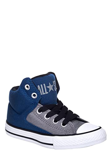 285b1ab593a432 Amazon.com  CONVERSE KIDS ALL STAR HIGH STREET SHOES MIDNIGHT NAVY BLACK SIZE  3  Shoes