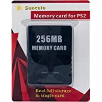 256MB Memory Card for Playstation 2, High Speed Memory Card for Sony PS2 (1 Pack)
