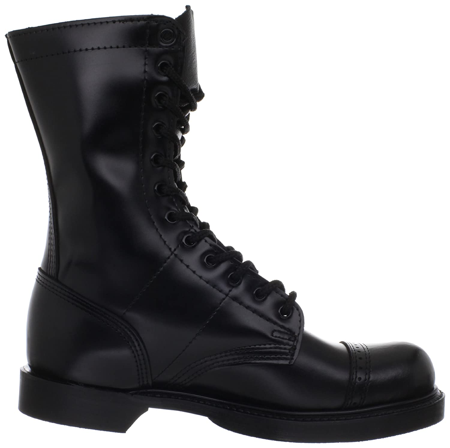 Size 10.5 E A Wide Selection Of Colours And Designs Original Corcoran Black Leather Jump Boots No Side Zipper