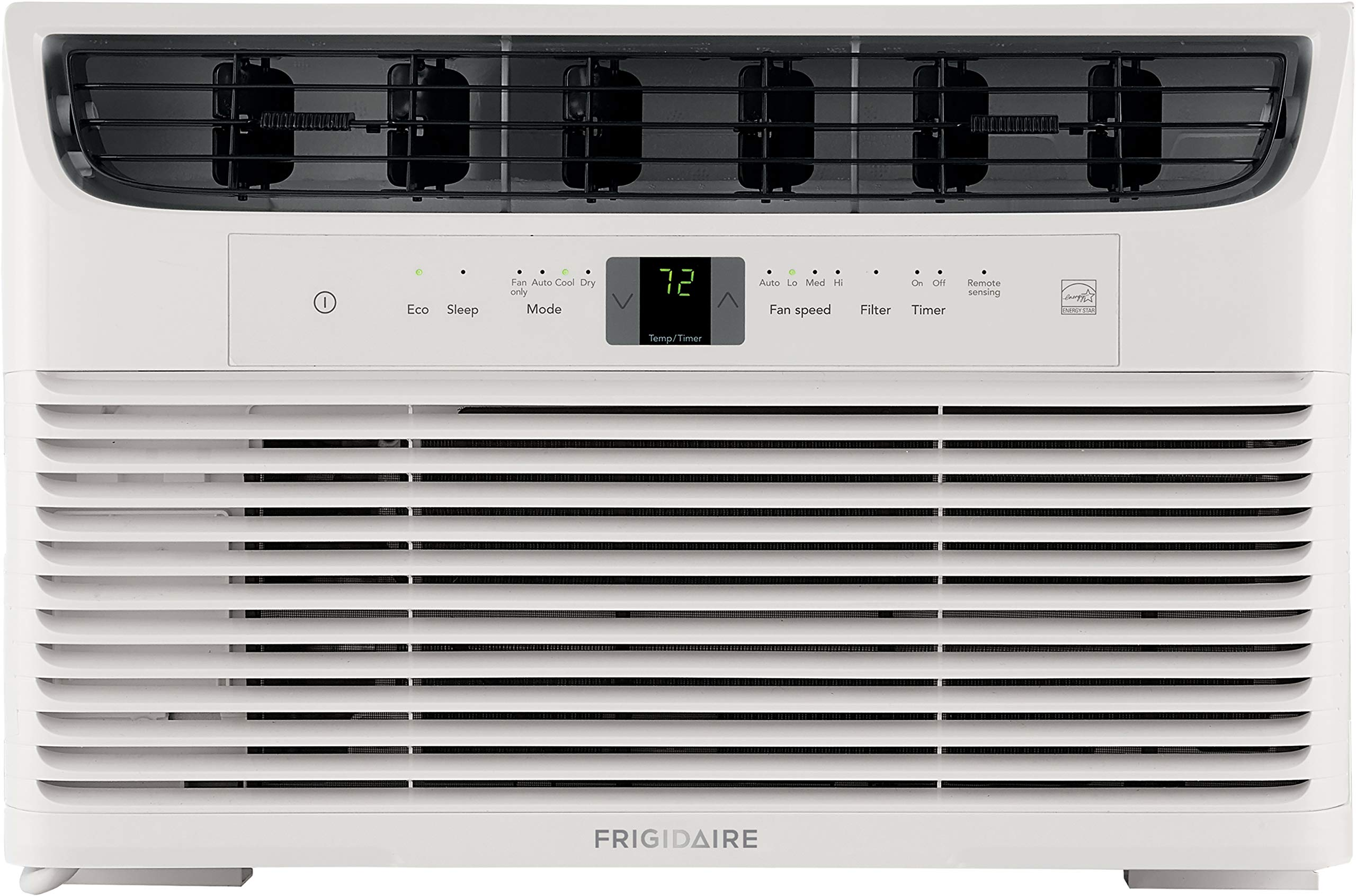 FRIGIDAIRE Energy Star 8,000 BTU 115V Window-Mounted Mini-Compact Air Conditioner with Full-Function Remote Control, White by FRIGIDAIRE