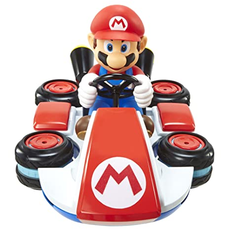 amazon com world of nintendo mario kart 8 mini anti gravity rc