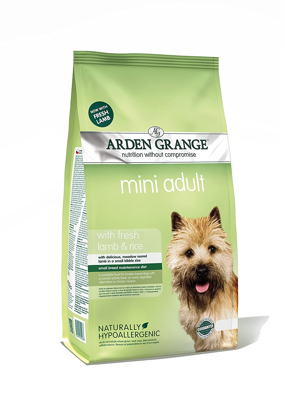 Arden Grange Mini Adult Dog Lamb Rice 6kg