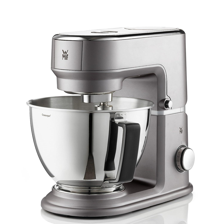 WMF All in One 0416440071 - Robot de cocina, mezclador universal, 3 L, bol de mezclas de cristal, 0.8 L, 430 W, 8 velocidades, gris: Amazon.es: Hogar
