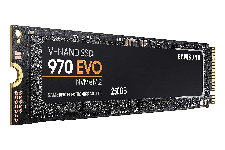 Amazon Com Samsung 970 Evo 250gb Nvme Pcie M 2 2280 Ssd Mz