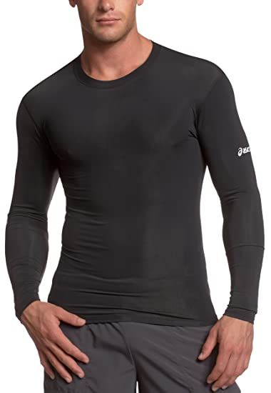 1b4602dc06 Amazon.com  ASICS Men s Running Compression Long Sleeve  Clothing