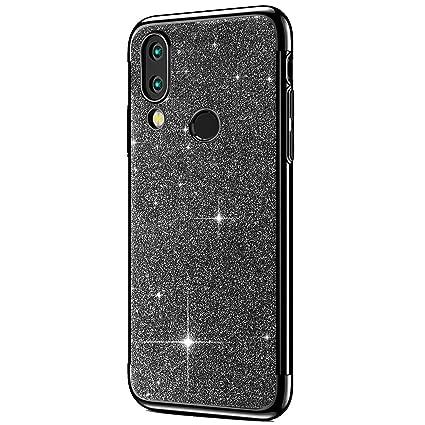 Amazon.com: IKASEFU Shiny Shockproof Glitter Sparkly Bling ...