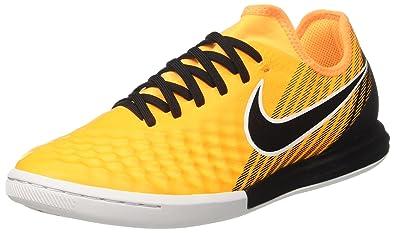 online store fc433 7d6f0 Nike Herren Magista Orden II SG Fußballschuhe, Schwarz (Black White-Dark  Grey